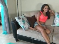 First Date Footjob with Mommie (Allura Skye, Stefania Mafra)
