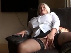 Lacey Starr Hammering Her Granny Pussy from SEEKBBW.NET