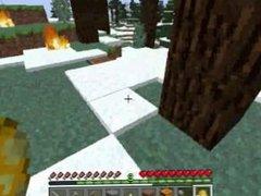 'PC Minecraft: Survival Series' - Episode #13: '420 Blazing Versus Snowman'