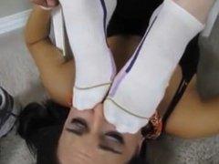 Lesbian Foot Domination 1