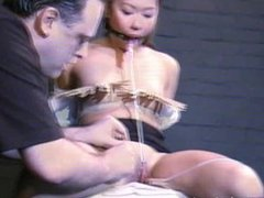 Kokos hard japanese bdsm and asian teen tortures of tounge clamped