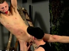 Photo sex gay boy blowjob Reece has a scorching load of jism in his