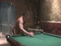 Pussy Licking Blowjob And Cowgirl On A Pool Table