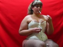 cute chubby smokes