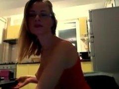 Romanian blonde from Constanta (Simona Jipa) enjoy fingering in webcam