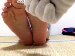 Japanese Soles Teen Tickle Torture 1