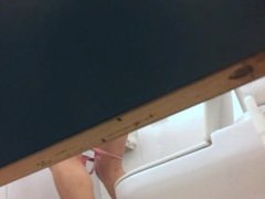 Milf From SEXDATEMILF.COM with high heels in the WC