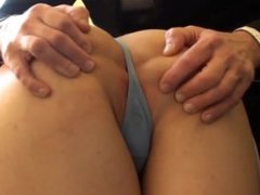 Honesty Calliaro landlord's daughter cums for the rent