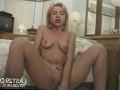 4 Hot Loads For Sexy Blonde Housewife