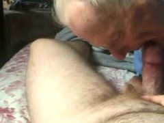 This grandpa is damn good in cock-balls sucking and lot more