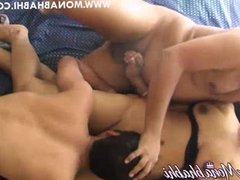 Mona Bhabhi Indian Aunty Threesome Sex