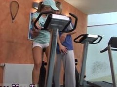 Young teen sex for money and sperm Sascha ass fucking drilled by fitness