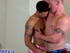 Muscle mature gay kissing movies Tate Gets Pounded Good!