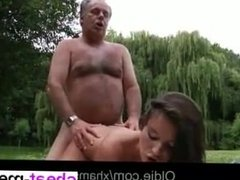 Date me from CHEAT-MEET.COM - Old guy gives cunnilingus
