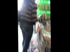 Ass in supermarket