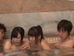big boobs teen molested threesome by geek 01