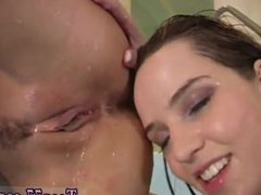 Best girl teen facial porn Young lezzies getting naked in swimming pool