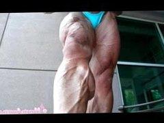 MM Flexes Muscles