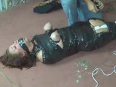 Riley Jane brutally mummified