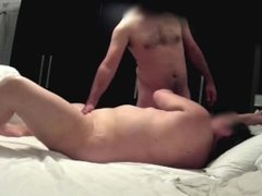Loud chubby wife gets fucked in sextape