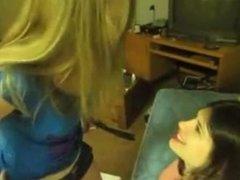 Amateur Lesbian Lap Dance