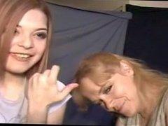 Alice feeds Simone
