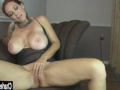 Charlee Chase From SEXDATEMILF.COM Pleases Her Horny Pussy
