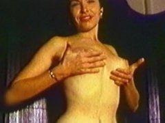 Broken Dreams - Vintage Striptease Mature Stockings