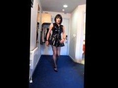 Donna Dee Sexy Sissy PVC Slut