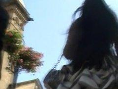 Very nice upskirt asian. Rebbeca LIVE on 1fuckdate.com