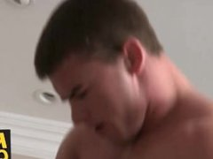Jamie enjoys a hard anal punishment from wild stud Douglas