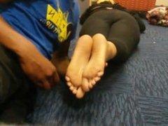 Sleeping college sole jerk
