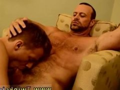 Gay boys cut the hair of dick Billy is too youthful to go out drinking,