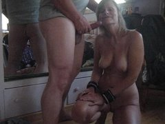 Laurie Smith choke whit cum