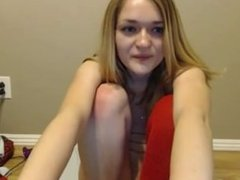sexy little cam slut toys her ass - CamsBros.com