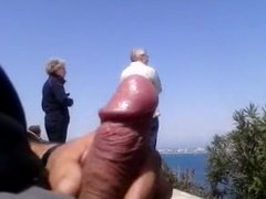 DICKFLASH A older couple