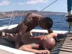 Interracial Sex On A Boat