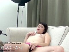 BRUNETTE FUCKED IN THE ASS AT CASTING CALL AUDITION