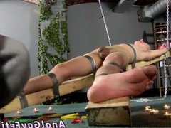 Mature gay men with hairy body porn Dean gets tickled, red-hot wax poured