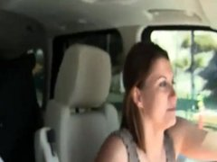 Tits Flash as he is Driving