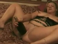 Bbw takes two fists and bottle. Tynisha from 1fuckdate.com