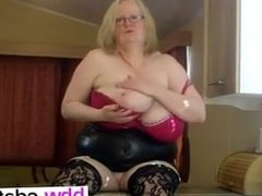 I am from BBW-CDATE.COM - My tight pvc skirt and lo