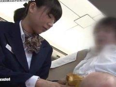 Satin Silk Scarf Asian Handjob