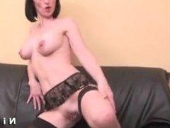 Tamesha from 1fuckdate.com - Busty french milf riding a guy ana