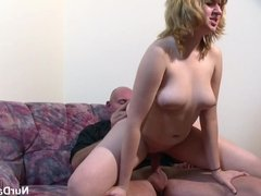 stepfather Seduce His Step-daughter To Fuck when mother out