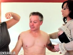 Alura Jenson Milf Threesome Fuck Arrest with Brandie Mae