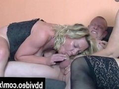 German milfs from AmateurWivesXxx.com fuck a lucky dude