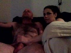 sister helps bro cum SISTER BJ WATCHIN PORN
