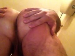 Play with my Ass in hotel...