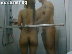 Teen Malay sex during shower